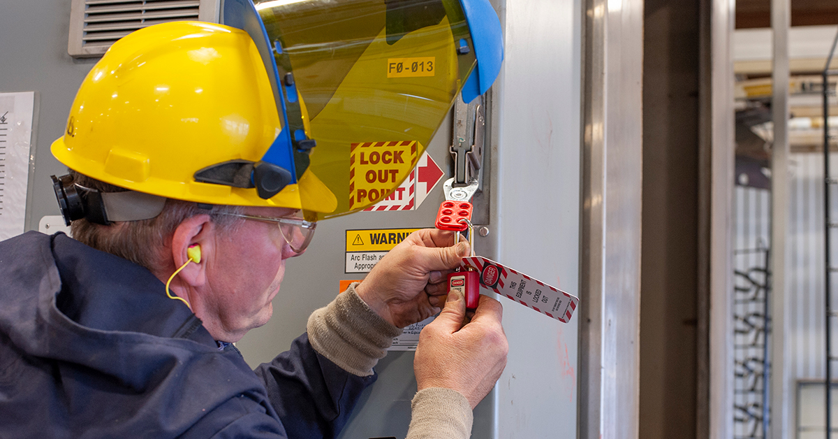 Minor service misconceptions under lockout/tagout