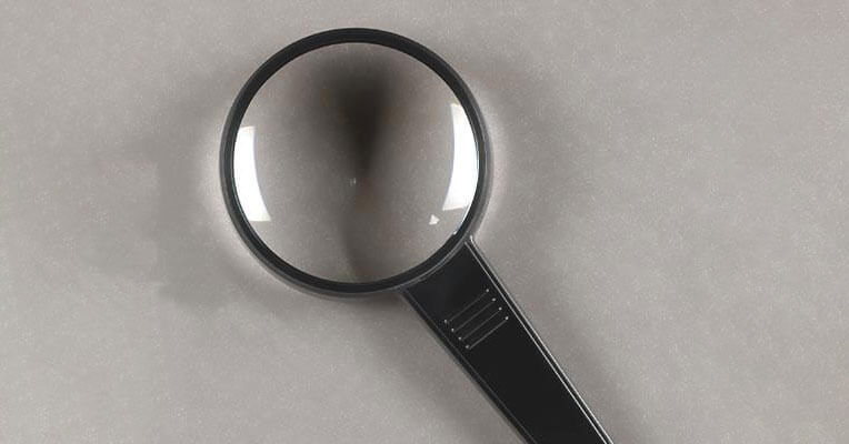 Can OSHA pull out a magnifying glass during an inspection?